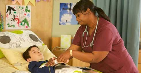 Octavia Spencer in Red Band Society