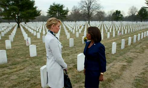 Katherine Heigl and Alfre Woodard in State of Affairs