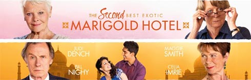 New Previews for The Second Best Exotic Marigold Hotel