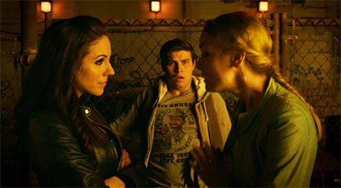 Bo and Tamsin fight with Mark watching