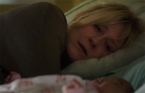 Caroline talks to Flora