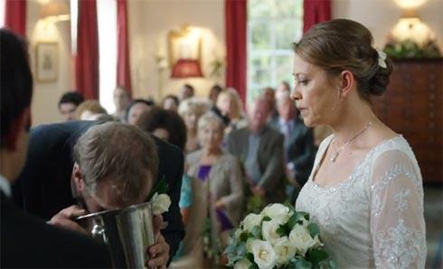 Wedding barf