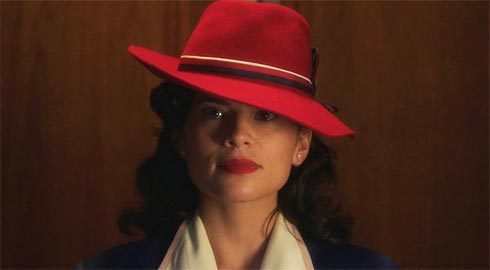 Agent Carter in her red hat