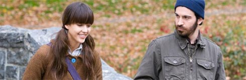 Jessica Alba and Chris Messina in An Invisible Sign