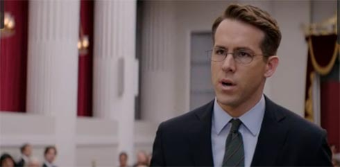 Ryan Reynolds in Woman in Gold