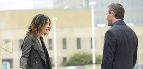 Jessica Szohr and Jason O'Mara in Complications