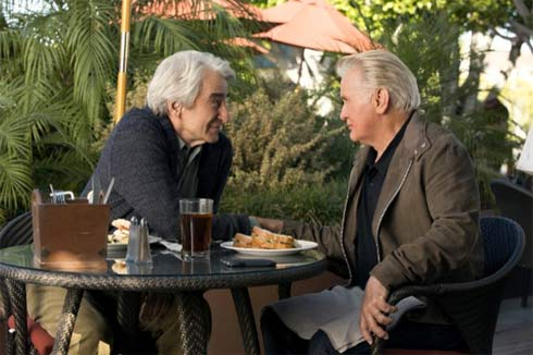 Sam Waterston and Martin Sheen in Frankie and Grace