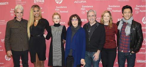 the cast of Grandma