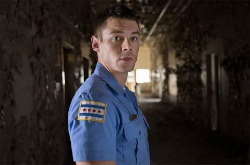 The American cop Will Gorski played by Brian J. Smith