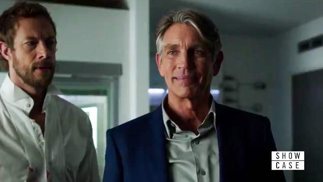 Kris Holden-Ried and Eric Roberts