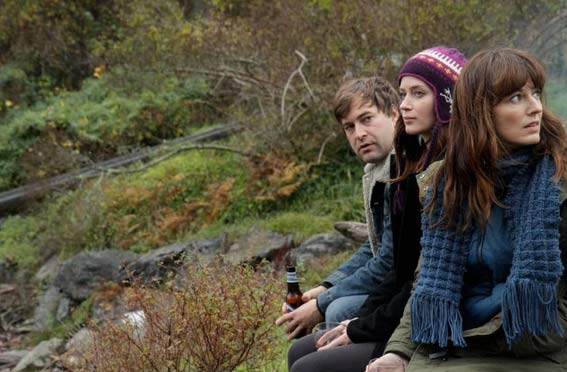 "Mark Duplass, Emily Blunt and Rosemary DeWitt in a scene from ""Your Sister's Sister."""