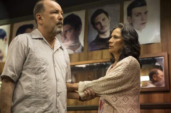 Rubén Blades and Patricia Reyes Spíndola
