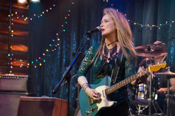 Meryl Streep singing in Ricki and the Flash