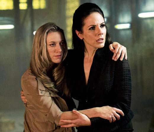 Lauren hangs on to Bo for support