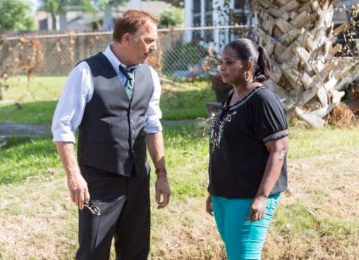 Kevin Costner and Octavia Spencer