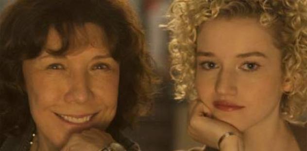 Lily Tomlin and Julia Garner in Grandma