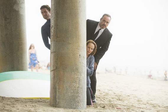 Luke Wilson, Helen Hunt and David Zayas