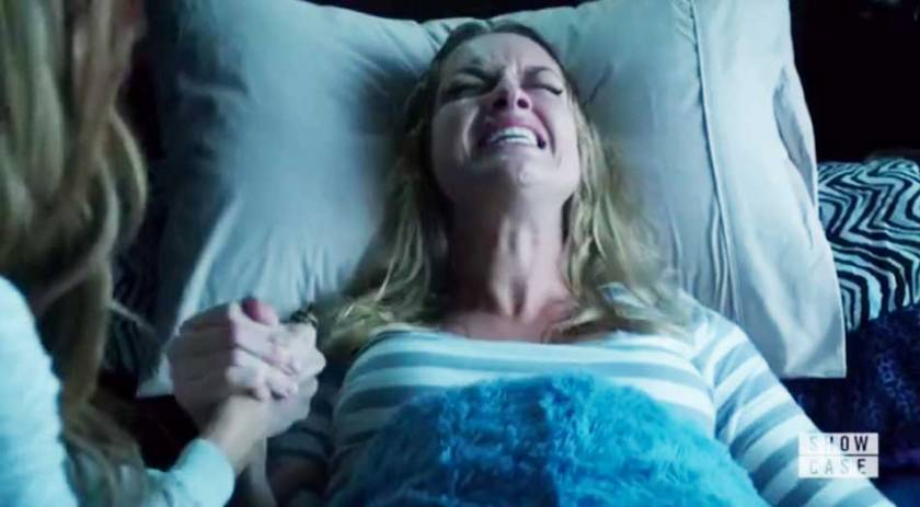 Tamsin having a baby
