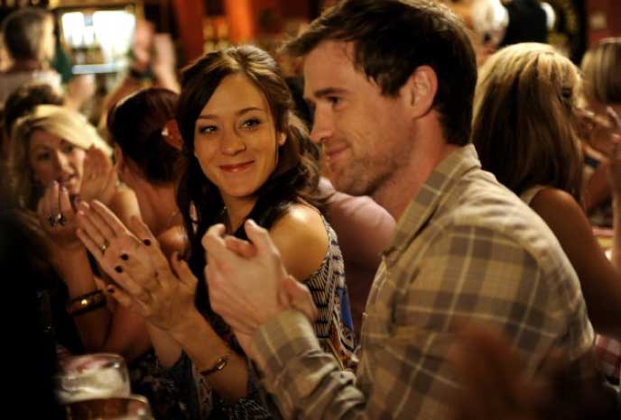 Chloe Sevigny and Jonas Armstrong in Hit & Miss