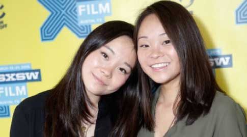 Anais and Samantha at the SXSW debut for the film.
