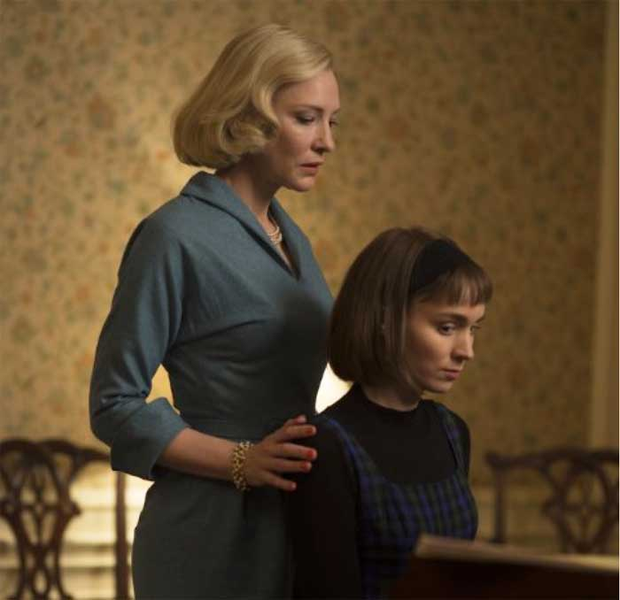 Cate Blanchett and Rooney Mara in Carol