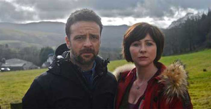 Richard Harrington and Mali Harries in Hinterland
