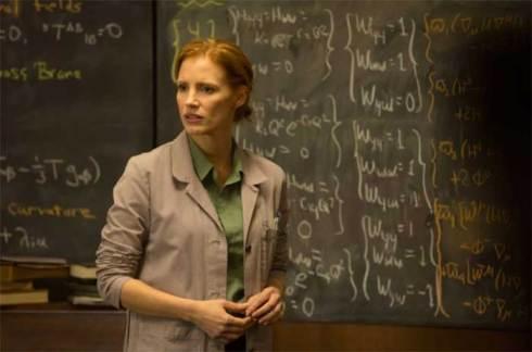 Jessica Chastain as Murph in Interstellar