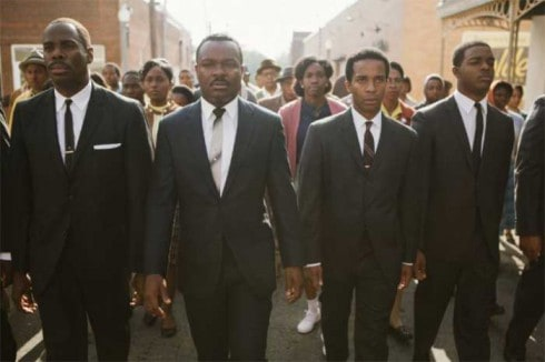 Colman Domingo, David Oyelowo, André Holland and Stephan James in Selma