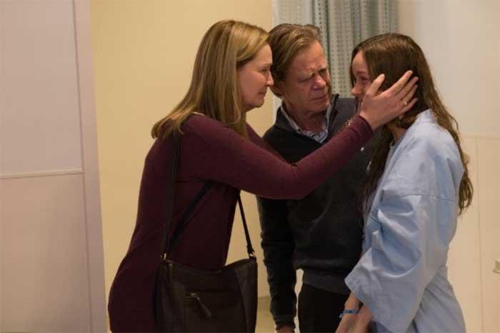 Joan Allen, William H. Macy and Brie Larson in Room