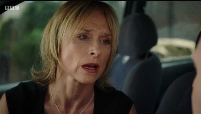 Amelia Bullmore and Kevin Doyle in Happy Valley