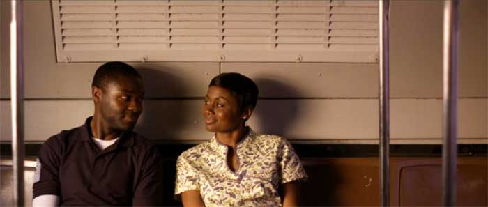 David Oyelowo and Emayatzy Corinealdi in Middle of Nowhere