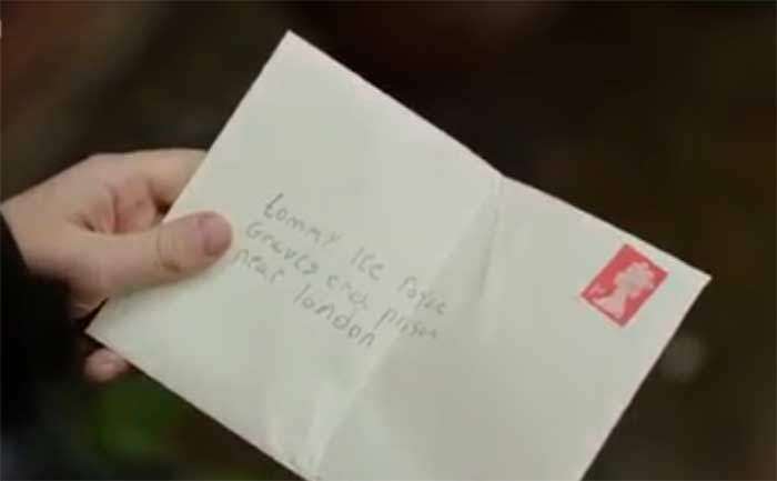 Ryan intends to mail Tommy a letter