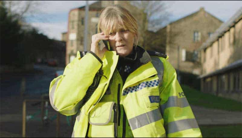 Sarah Lancashire in a scene from Happy Valley S2 E5