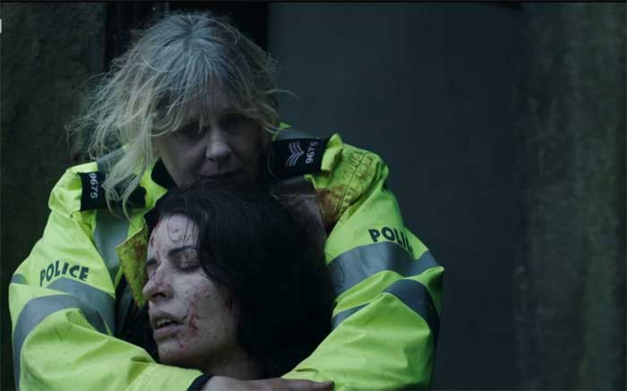 Sarah Lancashire and Susan Lynch in Happy Valley