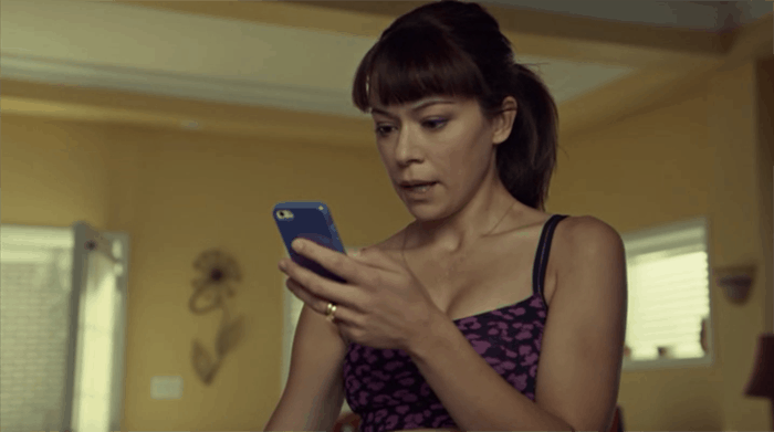 Tatiana Maslany as Allison in Orphan Black