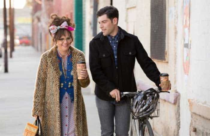 Sally Field and Max Greenfield in Hello, My Name is Doris