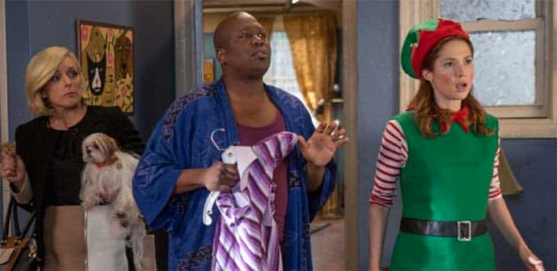 Ellie Kemper, Jane Krakowski, Tituss Burgess in Unbreakable Kimmy Schmidt season 2