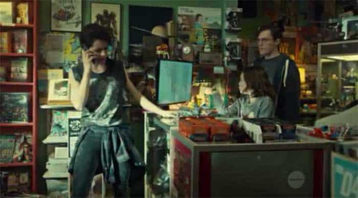 Tatiana Maslany, Skyler Wexler and Josh Vokey in Orphan Black