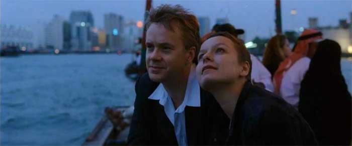 Tim Robbins and Samantha Morton in Code 46