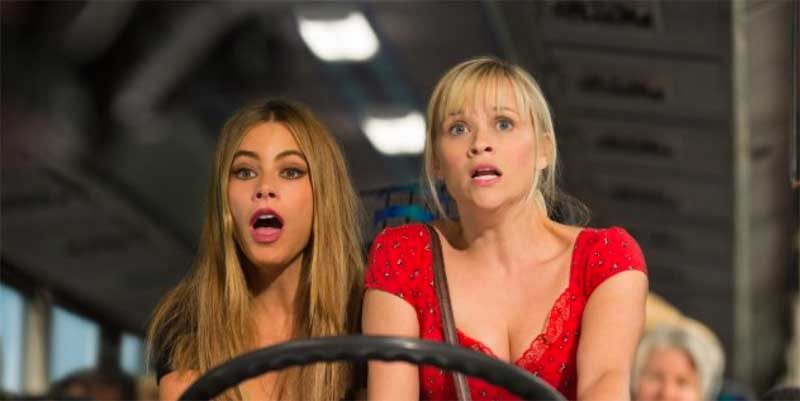 Reese Witherspoon and Sofía Vergara in Hot Pursuit