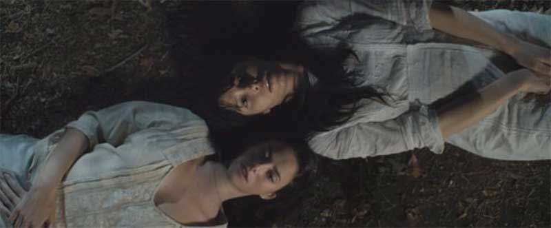 Jessica Biel and Kaya Scodelario in The Truth About Emanuel