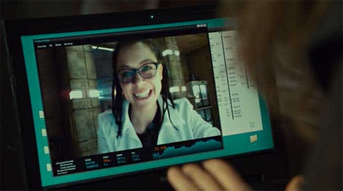 Tatiana Maslany as Cosima in Orphan Black
