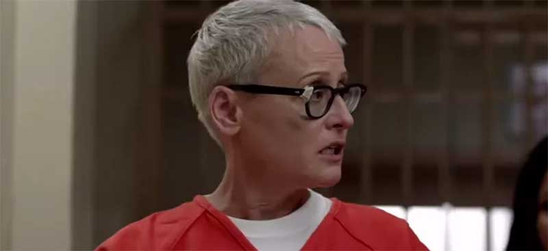 Lori Petty in Orange is the New Black