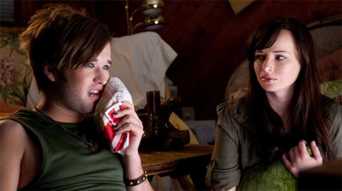 Haley Joel Osment and Ashley Rickards in Sassy Pants
