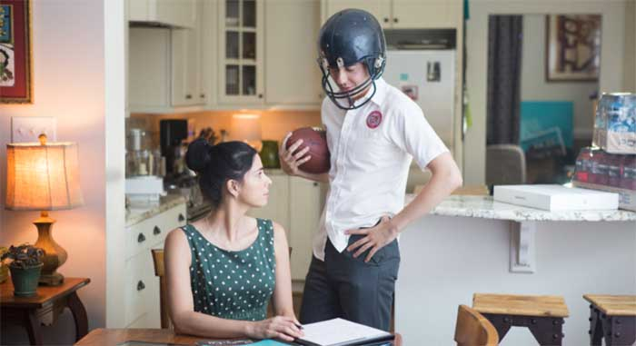 Sarah Silverman and Nat Wolff in Ashby