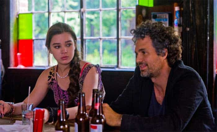 Hailee Steinfeld and Mark Ruffalo in Begin Again