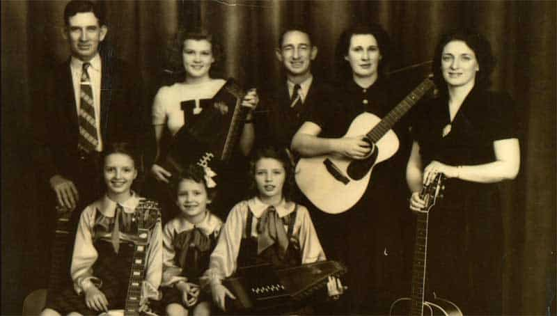 Mother Maybelle Carter, A.P. Carter, and The Carter Family in The Winding Stream