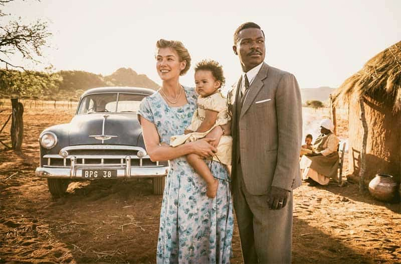 David Oyelowo and Rosamund Pike in A United Kingdom