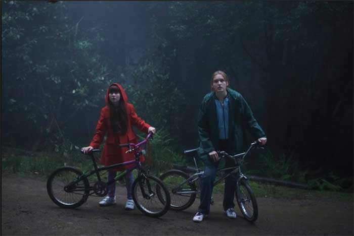 Miranda Bennett and Maddison Brown in The Kettering Incident
