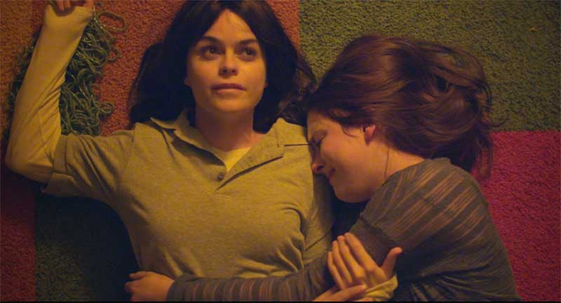 Taryn Manning and Madison Davenport in A Light Beneath their Feet